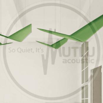 Kumaş Kaplı Akustik Yüzer Tavan Paneli