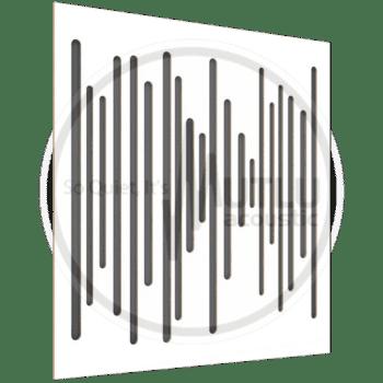 Wood Middle Orta Frekans Akustik Beyaz