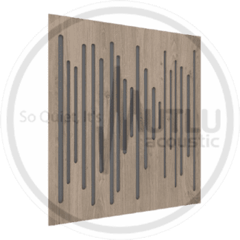 Wood Middle Orta Frekans Akustik Kahverengi