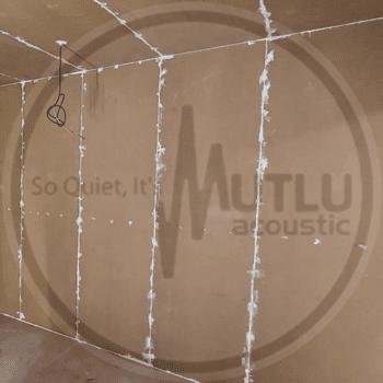 Oda İçinde Oda Akustik Mastik Çekimi